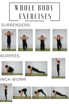 no equipment whole body exercises to lose weight