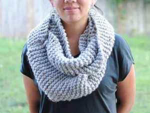 chunky infinity scarf multiple colors