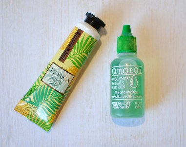 pineapple hand cream avocado cuticle oil