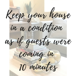 top cleaning tip