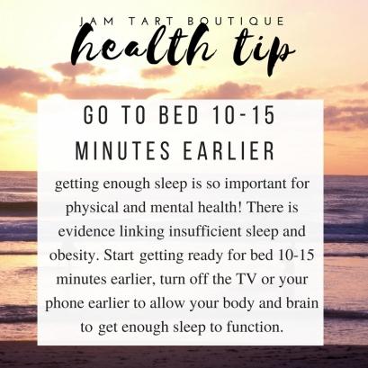 health tip sleep more