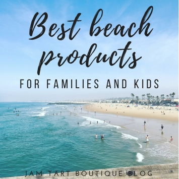 what to pack to the beach for families and kids
