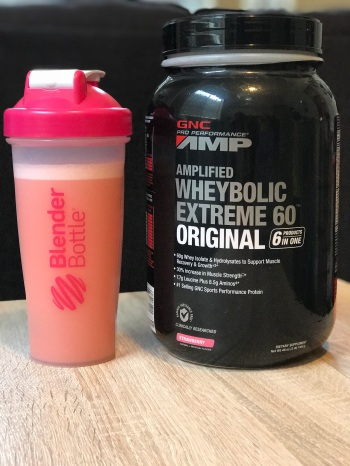 strawberry protein powder gnc