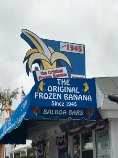 balboa island staycation banana stand