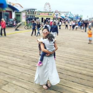 newport beach staycation santa monica pier
