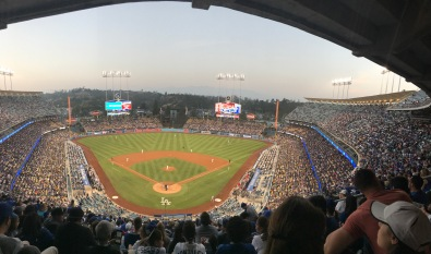 nationals at dodgers game
