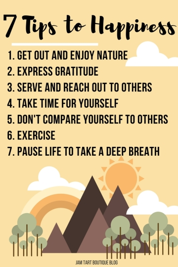 7 Tips to happiness