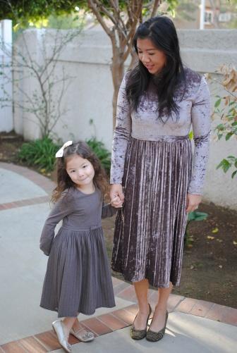 velvet party dress
