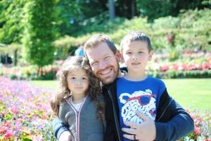 Butchart Gardens Victoria British Columbia family travel