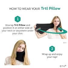 trtl travel pillow instructions