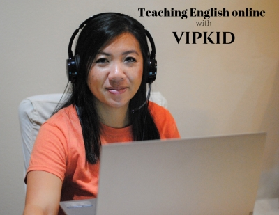 Teaching English online VIPKID
